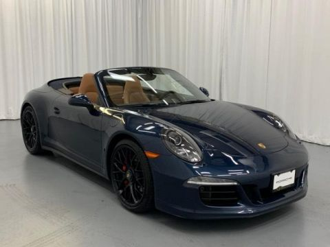 Certified Pre-Owned 2016 Porsche 911 Carrera 4 GTS Cabriolet